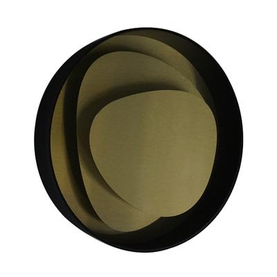 Applique LED Design BRUME Laiton
