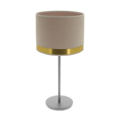 Lampe Max Art Déco Rose / Laiton