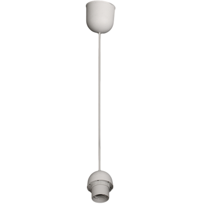 Cordon de suspension en PVC Blanc - 113cm