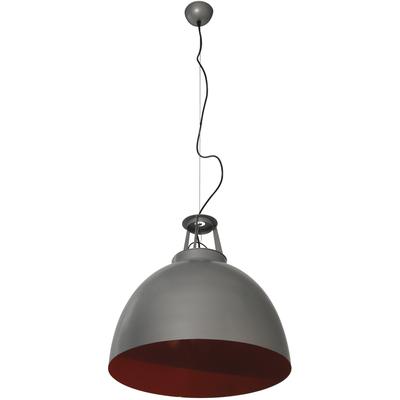 Suspension Lodge Bicolore Grand Modèle gris et rouge