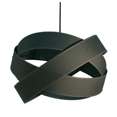 Suspension Bijou Gris anthracite Diamètre 38 cm