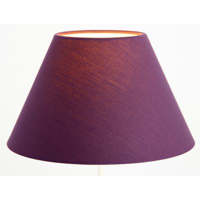 Abat-jour violet forme empire