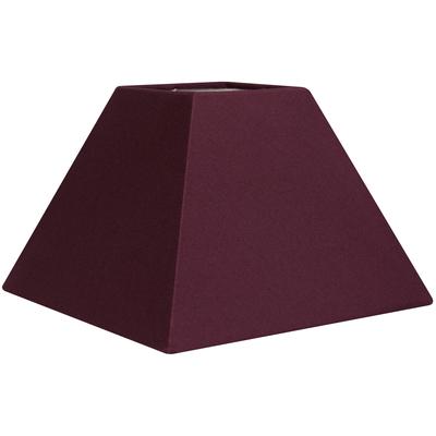 Abat-jour pyramide violet