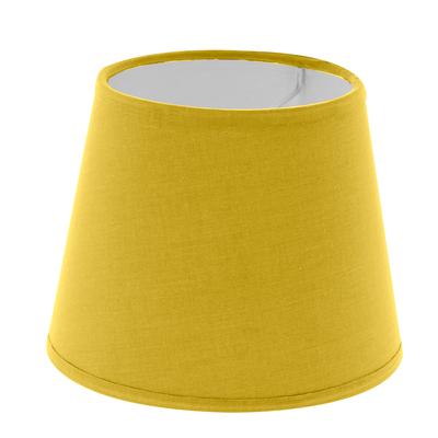 Abat-jour à pince jaune diamètre 14 cm