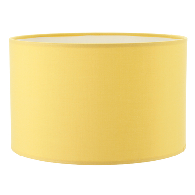 Abat-jour cylindre jaune