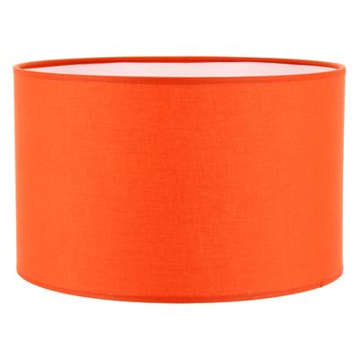 Abat-jour cylindre orange mango