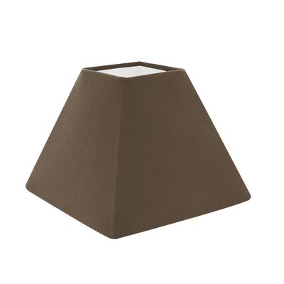 Abat-jour pyramide gris poivre