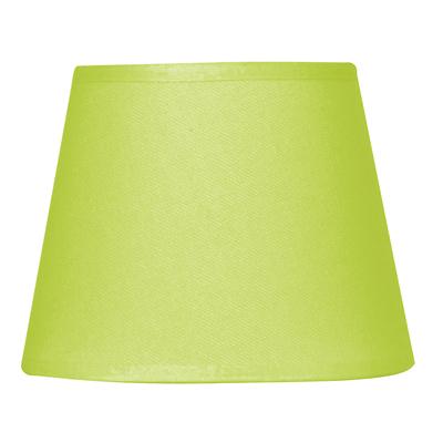 Abat-jour à pince vert anis diamètre 14 cm
