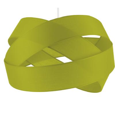 Suspension Bijou vert anis Diamètre 38 cm