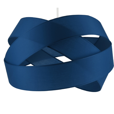 Suspension Bijou Bleu Roi Diamètre 38 cm