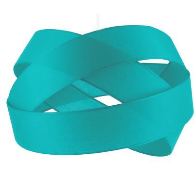 Suspension Bijou Bleu Lagon Diamètre 38 cm