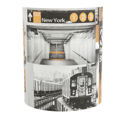 Applique 1/2 cylindre Penn Station