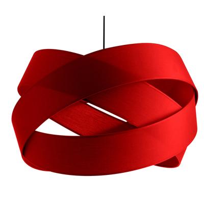 Suspension Bijou XXL Rouge Diamètre 58 cm