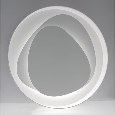 applique led design brume blanche 58 cm luminaires led appliques led e metropolight. Black Bedroom Furniture Sets. Home Design Ideas