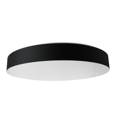 Suspension design LED FLAT noire 66 cm
