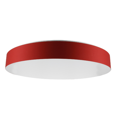 Suspension Design LED FLAT rouge 66 cm