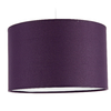 Suspension cylindre violet