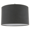 Suspension cylindre gris anthracite