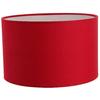 Abat jour cylindre rouge