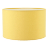 abat jour cylindre jaune