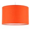 Suspension cylindre orange mango