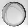 Applique design  LED Brume Noire 2