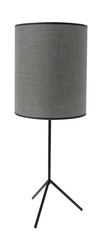 lampe robert gris titane
