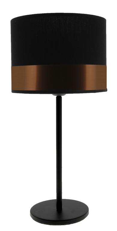 lampe max noir cuivre