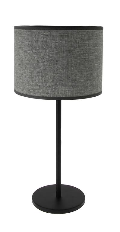 lampe max gris anthracite (pied gris)