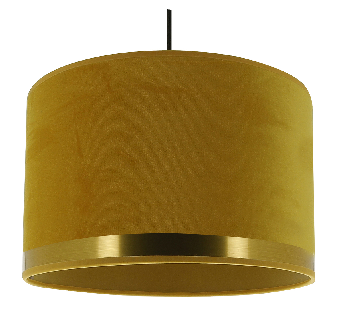 suspension art deco jaune laiton