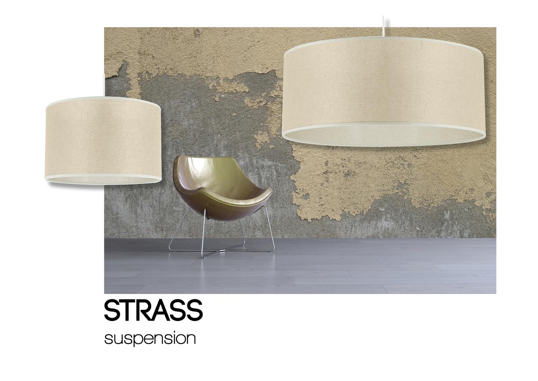 suspension strass slim pailleté or ambiance