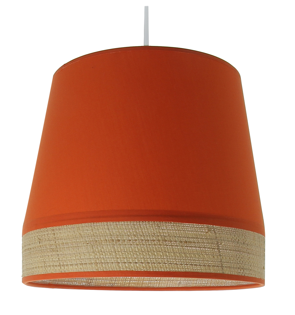 Suspension tambour manon orange