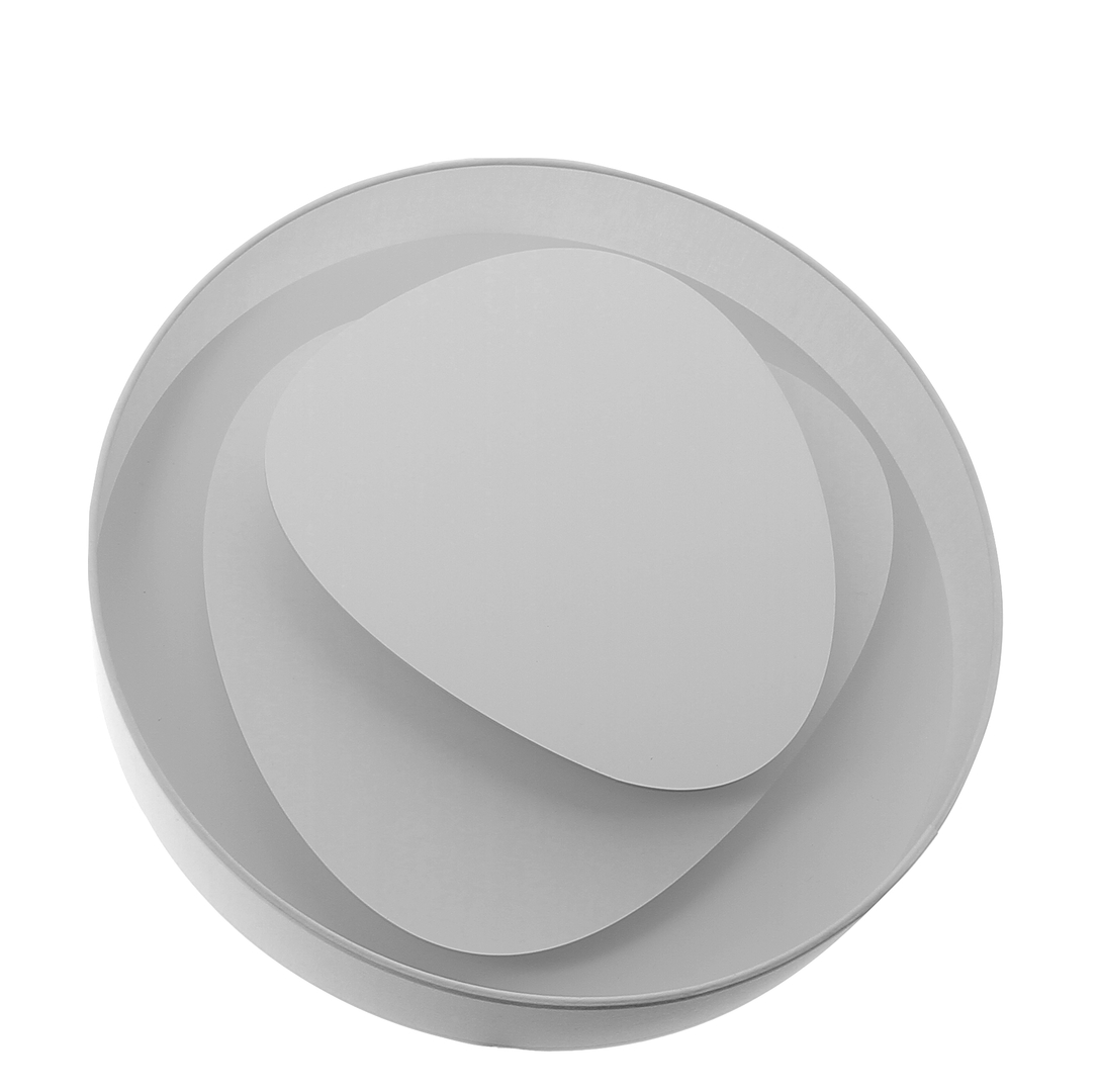 Applique design  LED Brume Blanche