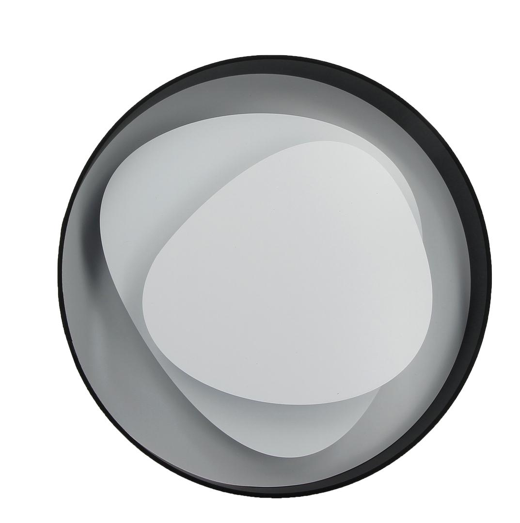 applique led design brume noire 58 cm luminaires led appliques led e metropolight. Black Bedroom Furniture Sets. Home Design Ideas
