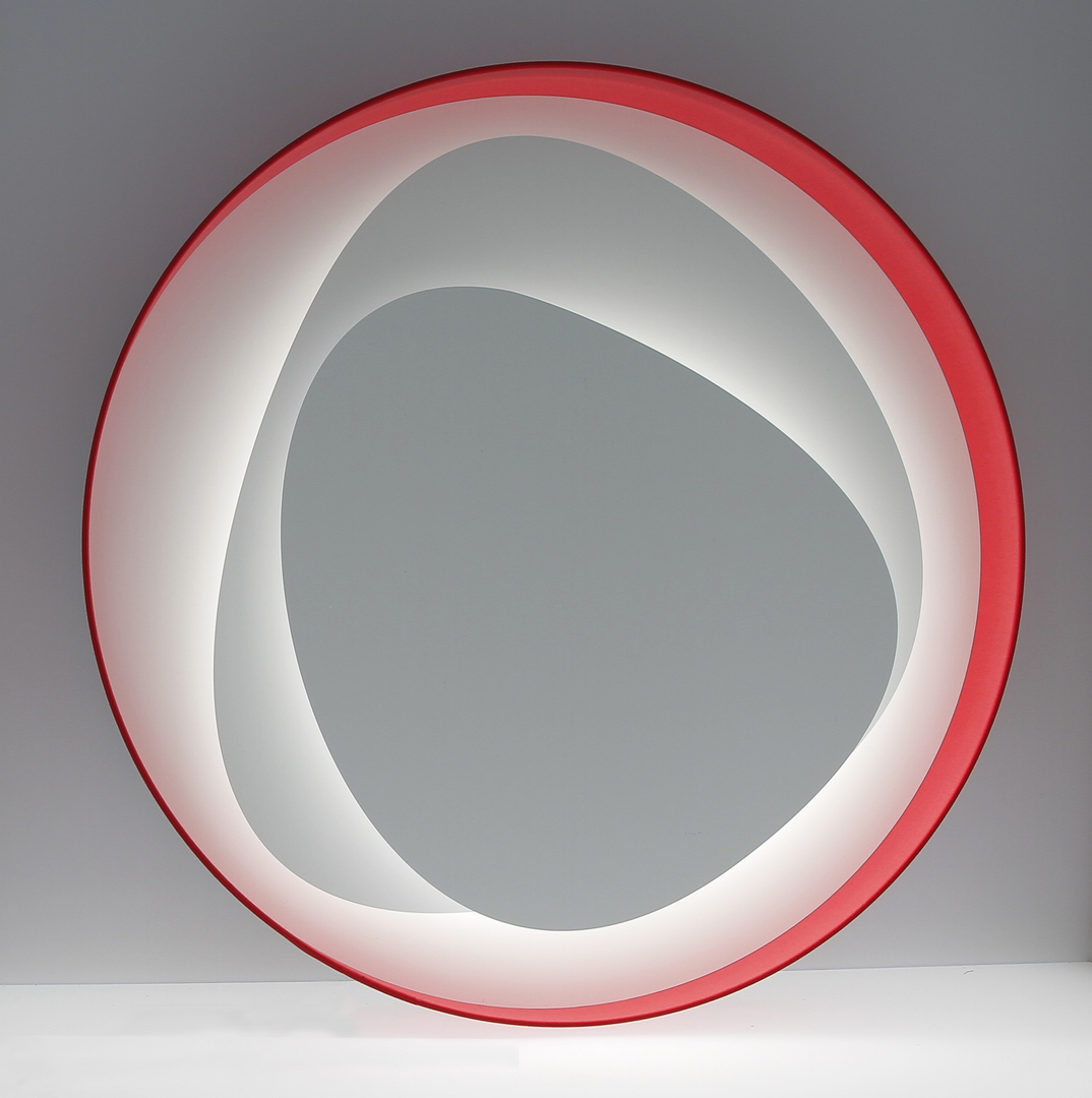 Applique design  LED Brume Rouge 2