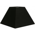 Abat-jour forme pyramide noir