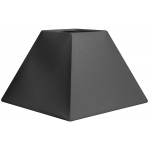 Abat-jour forme pyramide gris galet