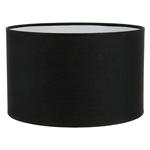 abat jour cylindre noir
