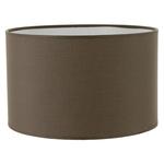 Abat jour cylindre gris poivre