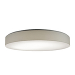 Suspension design LED FLAT blanche 66 cm