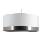 Suspension cylindre silver