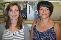 Celine et Leslie Metropolight service client