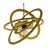 Suspension cercles revolution jaune