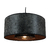 suspension cylindre club gris anthracite