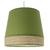 Suspension tambour manon vert olive