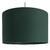 Suspension cylindre vert tropique transparent