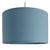 Suspension cylindre bleu baltique transparent