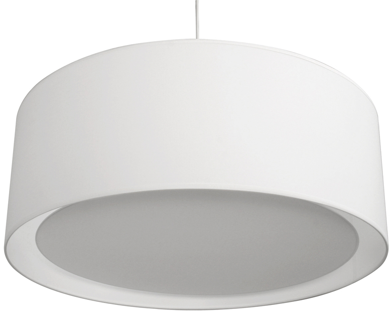Suspension Essentiel blanche grand modele