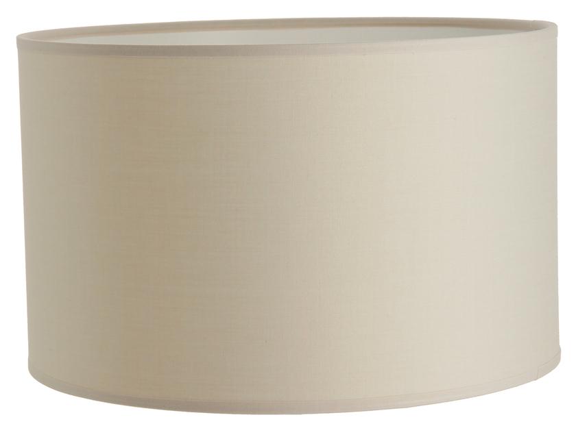 Abat jour cylindre gris doré
