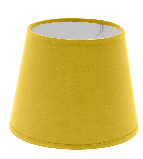 Abat-jour forme américaine  jaune